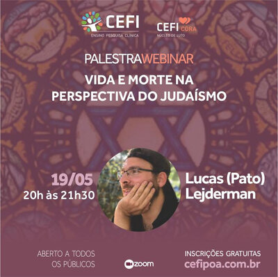 Webinar Vida e Morte na perspectiva do Judaísmo
