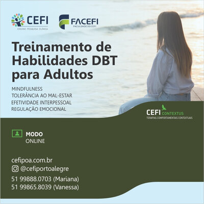 Dialectic Behavior Therapy Skills Training Group for adults