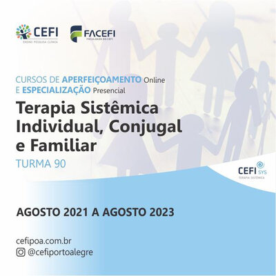 Curso de Especialización en Terapia Sistémica Individual, Marital y Familiar - Clase 85