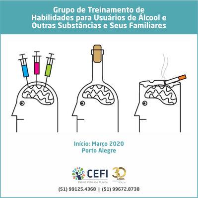 Grupo de Treinamento de Habilidades da Terapia Comportamental Dialética para Usuários de Álcool e outras Substâncias e seus Familiares