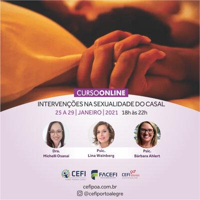 CURSO EN LÍNEA: INTERVENCIONES EN SEXUALIDAD EN PAREJA