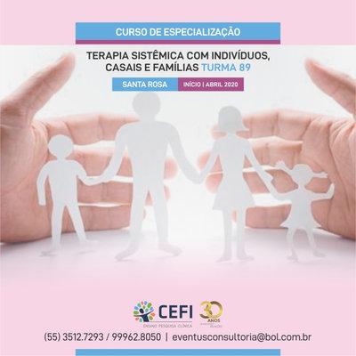 CURSO DE ESPECIALIZAÇÃO EM TERAPIA SISTÊMICA INDIVIDUAL, CONJUGAL E FAMILIAR
